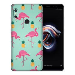 Skin Xiaomi Redmi 5 Plus - Sticker Mobster Autoadeziv Pentru Spate - Flamingo