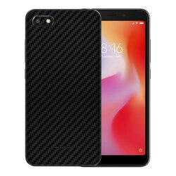Skin Xiaomi Redmi 6A - Sticker Mobster Autoadeziv Pentru Spate - Carbon Black