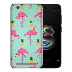 Skin Xiaomi Redmi 5A - Sticker Mobster Autoadeziv Pentru Spate - Flamingo