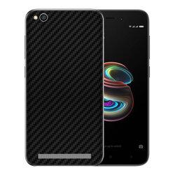 Skin Xiaomi Redmi 5A - Sticker Mobster Autoadeziv Pentru Spate - Carbon Black