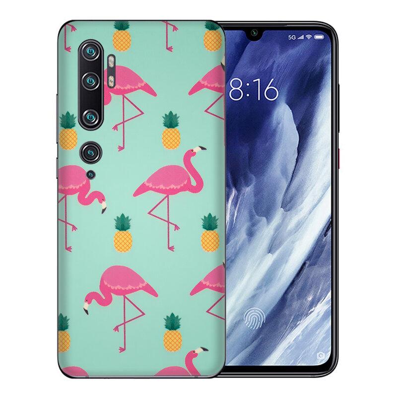 Skin Xiaomi Mi CC9 Pro - Sticker Mobster Autoadeziv Pentru Spate - Flamingo