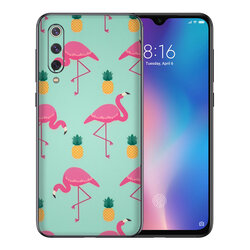 Skin Xiaomi Mi 9 - Sticker Mobster Autoadeziv Pentru Spate - Flamingo