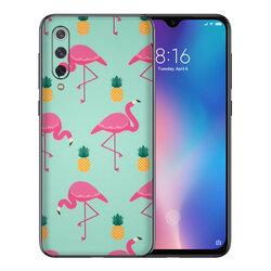 Skin Xiaomi Mi 9 Pro - Sticker Mobster Autoadeziv Pentru Spate - Flamingo