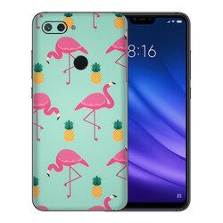 Skin Xiaomi Mi 8 Lite - Sticker Mobster Autoadeziv Pentru Spate - Flamingo