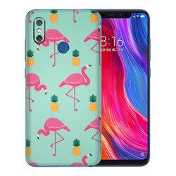 Skin Xiaomi Mi 8 - Sticker Mobster Autoadeziv Pentru Spate - Flamingo