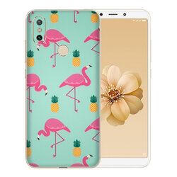 Skin Xiaomi Mi 6X - Sticker Mobster Autoadeziv Pentru Spate - Flamingo