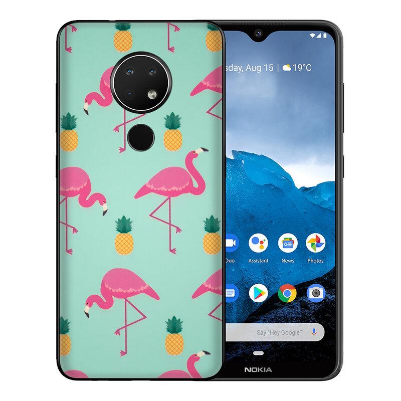 Skin Nokia 6.2 - Sticker Mobster Autoadeziv Pentru Spate - Flamingo