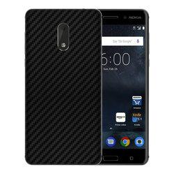 Skin Nokia 6 - Sticker Mobster Autoadeziv Pentru Spate - Carbon Black