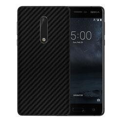 Skin Nokia 5 - Sticker Mobster Autoadeziv Pentru Spate - Carbon Black