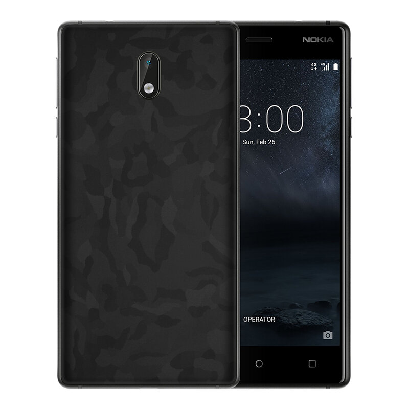 Skin Nokia 3 - Sticker Mobster Autoadeziv Pentru Spate - Camo