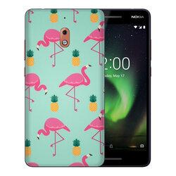 Skin Nokia 2.1 - Sticker Mobster Autoadeziv Pentru Spate - Flamingo
