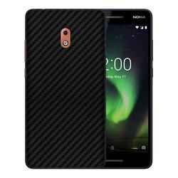 Skin Nokia 2.1 - Sticker Mobster Autoadeziv Pentru Spate - Carbon Black