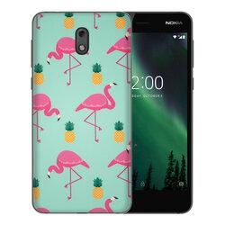 Skin Nokia 2 - Sticker Mobster Autoadeziv Pentru Spate - Flamingo
