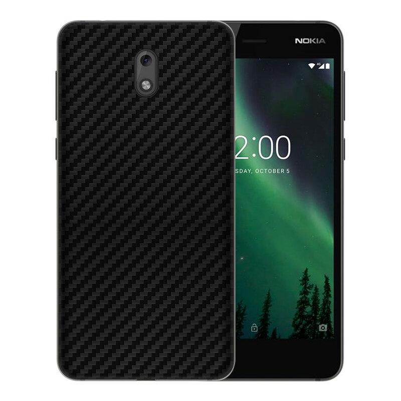 Skin Nokia 2 - Sticker Mobster Autoadeziv Pentru Spate - Carbon Black