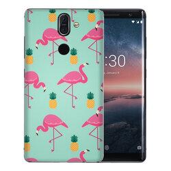 Skin Nokia 8 Sirocco - Sticker Mobster Autoadeziv Pentru Spate - Flamingo