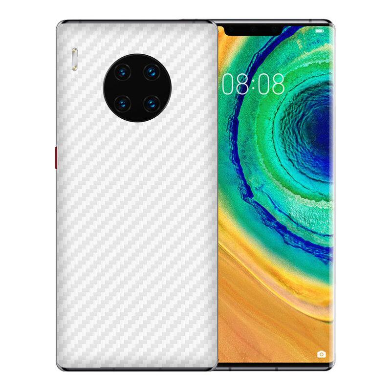 Skin Huawei Mate 30 Pro - Sticker Mobster Autoadeziv Pentru Spate - Carbon White