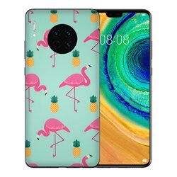 Skin Huawei Mate 30 - Sticker Mobster Autoadeziv Pentru Spate - Flamingo