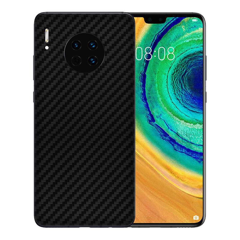 Skin Huawei Mate 30 - Sticker Mobster Autoadeziv Pentru Spate - Carbon Black