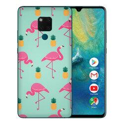 Skin Huawei Mate 20 X - Sticker Mobster Autoadeziv Pentru Spate - Flamingo