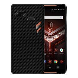 Skin Asus ROG Phone ZS600KL - Sticker Mobster Autoadeziv Pentru Spate - Carbon Black