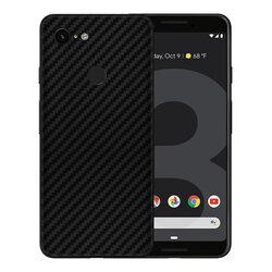 Skin Google Pixel 3 XL - Sticker Mobster Autoadeziv Pentru Spate - Carbon Black