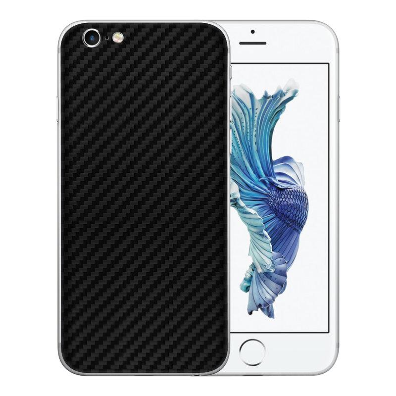 Skin iPhone 6 Plus - Sticker Mobster Autoadeziv Pentru Spate - Carbon Black