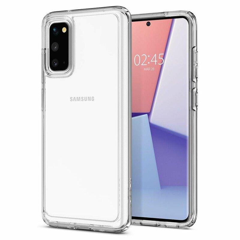Husa Samsung Galaxy S20 Spigen Ultra Hybrid - Crystal Clear