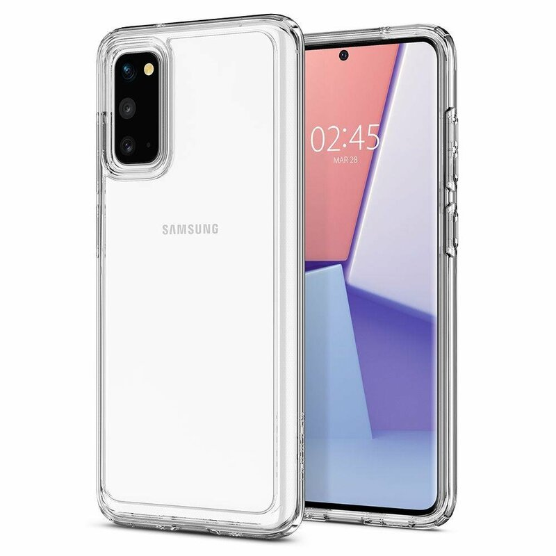 Husa Samsung Galaxy S20 5G Spigen Ultra Hybrid - Crystal Clear