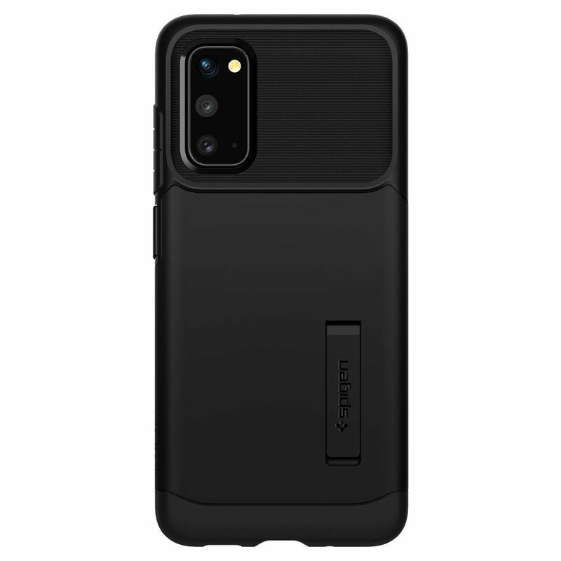 Husa Samsung Galaxy S20 5G Spigen Slim Armor - Black