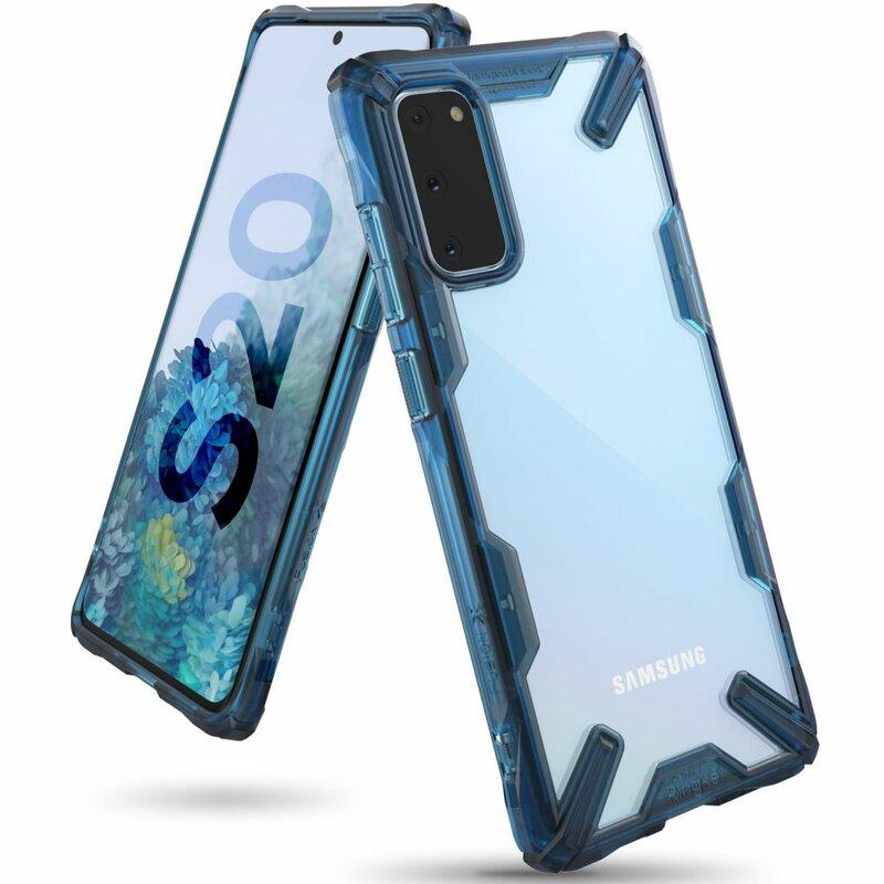 Husa Samsung Galaxy S20 5G Ringke Fusion X - Space Blue