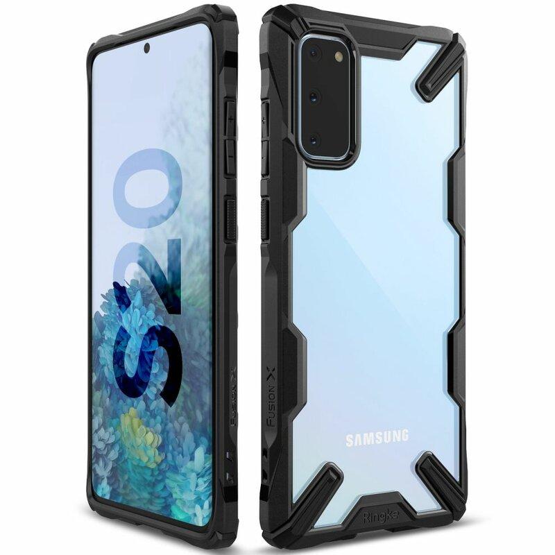 Husa Samsung Galaxy S20 5G Ringke Fusion X - Black
