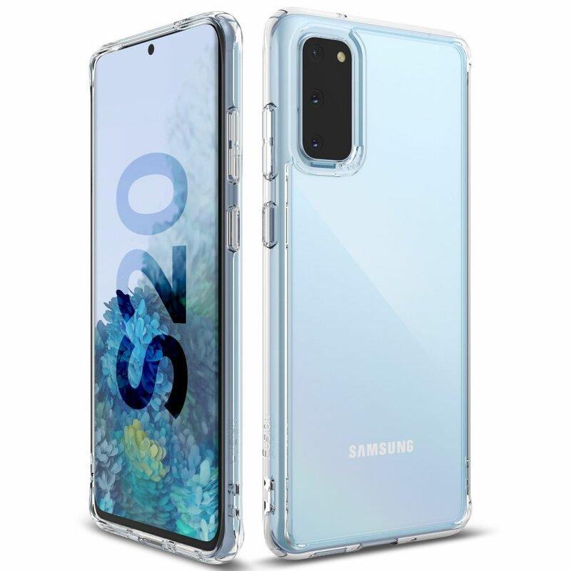 Husa Samsung Galaxy S20 5G Ringke Fusion - Clear