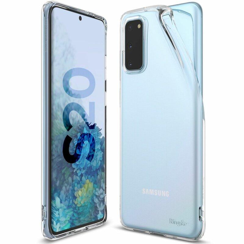 Husa Samsung Galaxy S20 5G Ringke Air - Clear