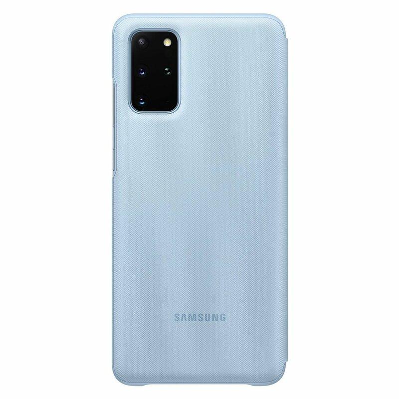 Husa Originala Samsung Galaxy S20 Plus 5G Smart Led View Cover - Albastru