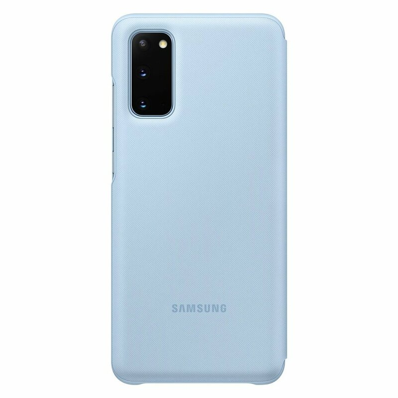 Husa Originala Samsung Galaxy S20 5G Smart Led View Cover - Albastru
