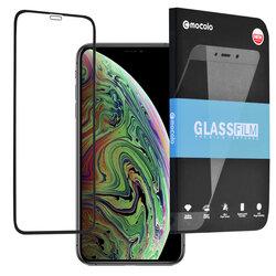 Folie Sticla iPhone XS Mocolo 3D Case Friendly 9H - Black