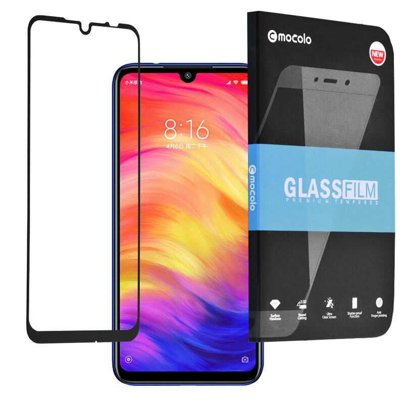 Folie Sticla Xiaomi Redmi Note 7 Mocolo Full Glue 9H - Black