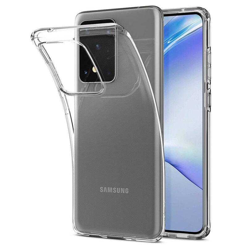 Husa Samsung Galaxy S20 Ultra Spigen Liquid Crystal - Crystal Clear
