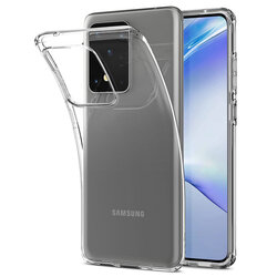 Husa Samsung Galaxy S20 Ultra 5G Spigen Liquid Crystal - Crystal Clear