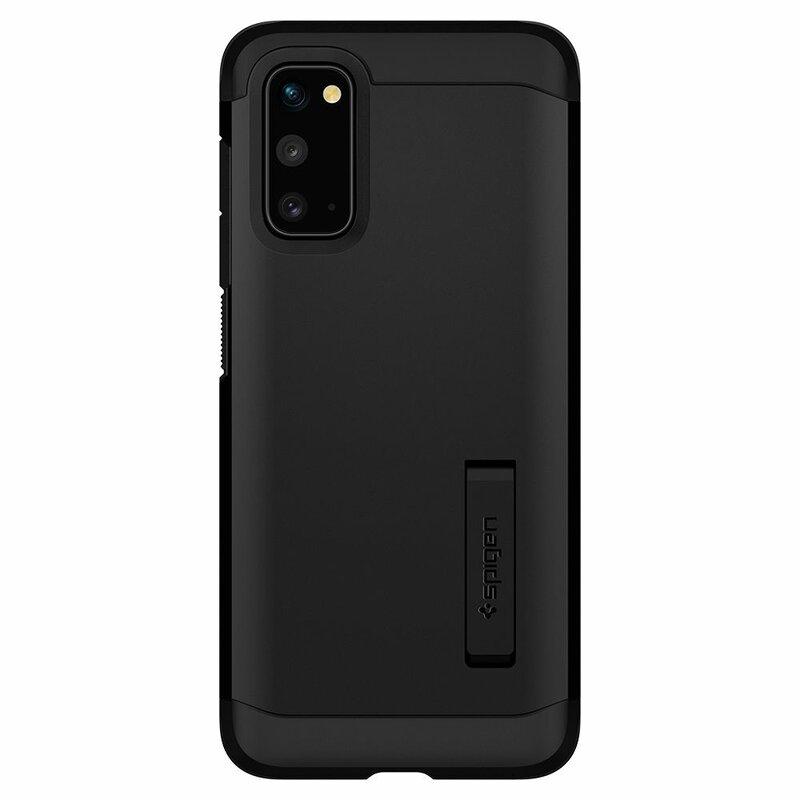 Husa Samsung Galaxy S20 5G Spigen Tough Armor - Black