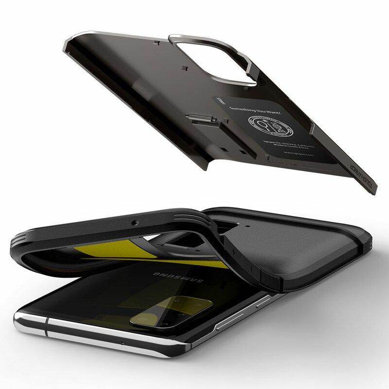 Husa Samsung Galaxy S20 5G Spigen Tough Armor - Gunmetal