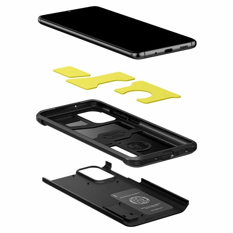 Husa Samsung Galaxy S20 Plus Spigen Tough Armor - Black