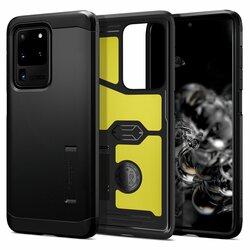 Husa Samsung Galaxy S20 Ultra 5G Spigen Tough Armor - Black