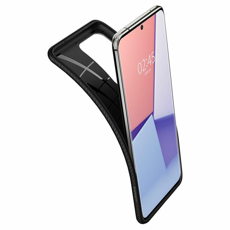 Husa Samsung Galaxy S20 Ultra 5G Spigen Liquid Air - Matte Black