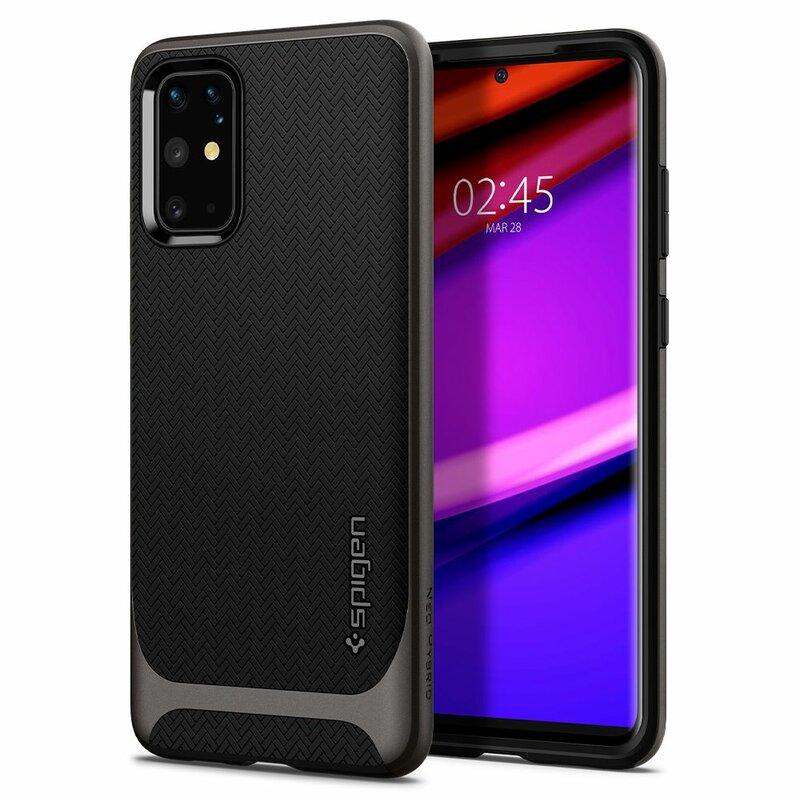 Husa Samsung Galaxy S20 Plus Spigen Neo Hybrid - Gunmetal