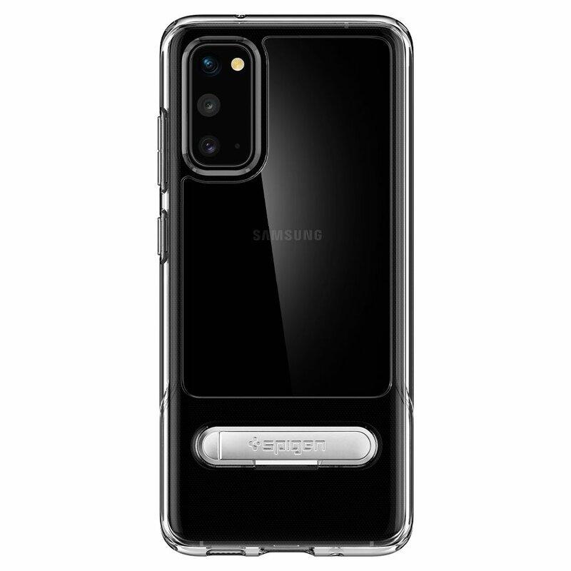 Husa Samsung Galaxy S20 5G Spigen Slim Armor Essential S - Clear