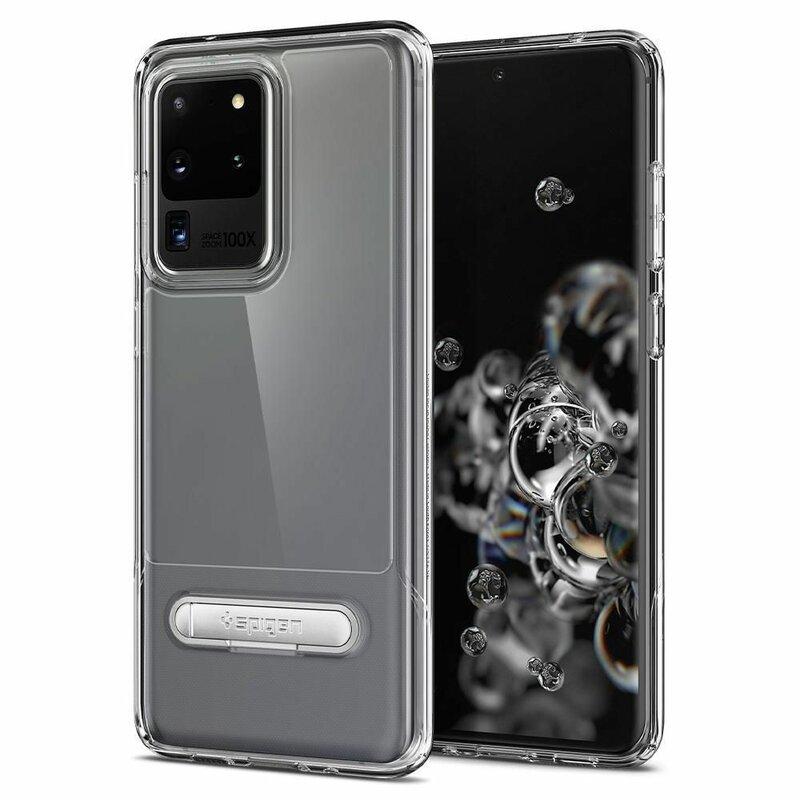 Husa Samsung Galaxy S20 Ultra 5G Spigen Slim Armor Essential S - Clear