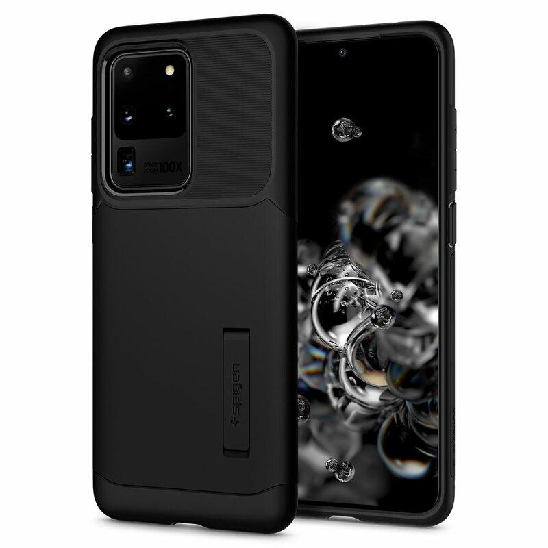 Husa Samsung Galaxy S20 Ultra 5G Spigen Slim Armor - Black