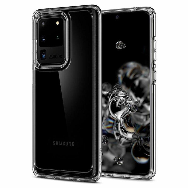 Husa Samsung Galaxy S20 Ultra 5G Spigen Ultra Hybrid - Crystal Clear