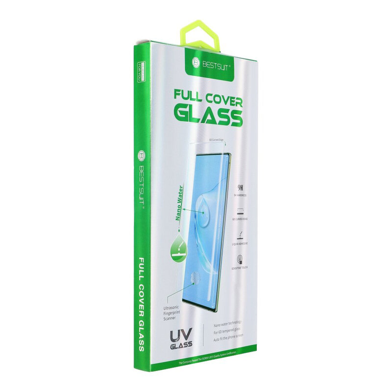 Folie Sticla Samsung Galaxy S20 Plus BestSuit Full Cover UV Glass 6D Nano Water - Clear